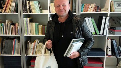 Saulius Urbonavičius-Samas tapo bibliotekos globėju