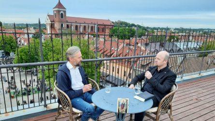 Ketvirtas gegužės šeštadienis: pokalbis apie Mariją su dr. Benu Ulevičiumi
