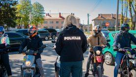 Klaipėdos kelių policijos pareigūnai praėjusią savaitę fiksavo ne tik greičio bet ir transporto priemonių keliamo triukšmo viršijimus