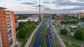 Per pastaruosius metus atnaujinta jau 4 km Laisvės pr. Vilniuje