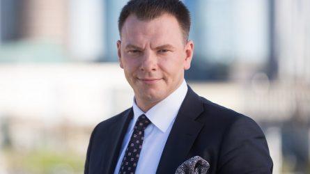 Finansų ministras Vilius Šapoka pirmininkaus Šiaurės investicijų banko valdytojų tarybai