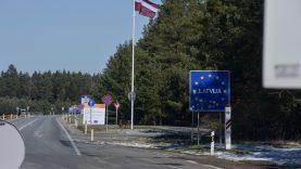 Pritarta VRM siūlymui panaikinti sienų kontrolę su Latvija