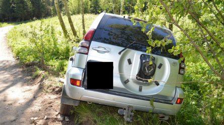 Nesėkmingos vairavimo pamokos vogtais automobiliais