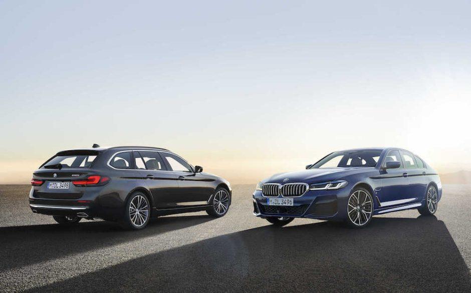 BMW pristatė atnaujintą 5 seriją ir daugiau elektrifikuotų naujienų