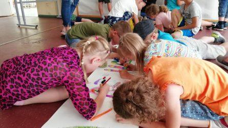 Vaikų užimtumui vasarą – turininga programa
