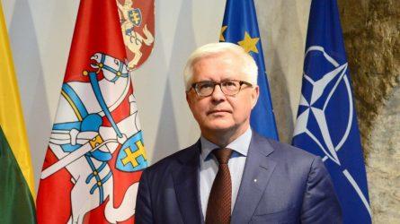 """Krašto apsaugos viceministras V. Umbrasas: """"Lietuva ir toliau rems Skaratvelo integracinius siekius į NATO ir Europos Sąjungą"""""""