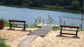 Šalia Zapyškio planuojama įrengti dar vieną prieplauką