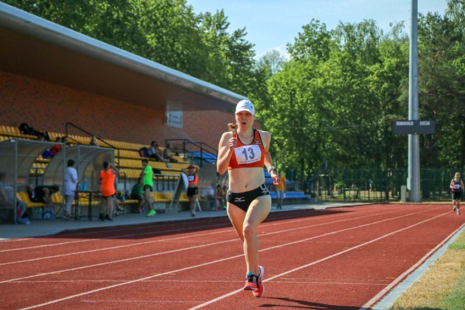 Olimpinės dienos bėgime dalyvausianti paralimpietė dalijasi patarimais ir ragina prisijungti