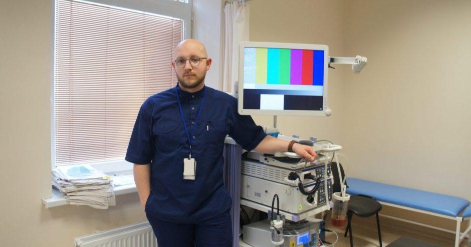 Endoskopijų skyrius po karantino darbą pradeda atsinaujinęs ir didesnėmis galimybėmis