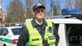 Klaipėdos Kelių policijos patrulis neblaivų vairuotoją sulaikė ne tarnybos metu  kitoje apskrityje