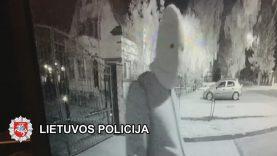 Klaipėdos pareigūnai sulaikė savininkams miegant namą apšvarinusį vyrą (video)