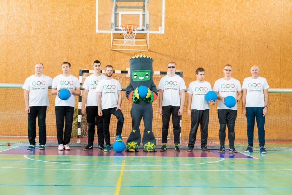 Paralimpiniai čempionai Olimpinės dienos bėgime dalyvaus siekdami įkvėpti kitus