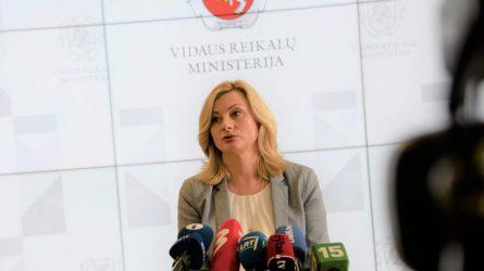 Ministrė R. Tamašunienė: Vyriausybei siūloma atšaukti Lietuvoje paskelbtą karantiną