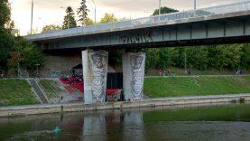 """Grįžta kinas po Liubarto tiltu: """"Gilios upės tyliai plaukia"""""""
