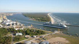 Naujasis Klaipėdos uosto vadovas A. Latakas pradeda darbą