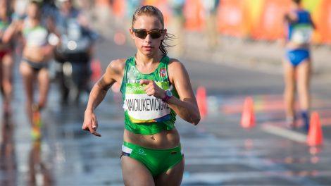 Olimpietė Ž. Vaiciukevičiūtė nusprendė baigti karjerą