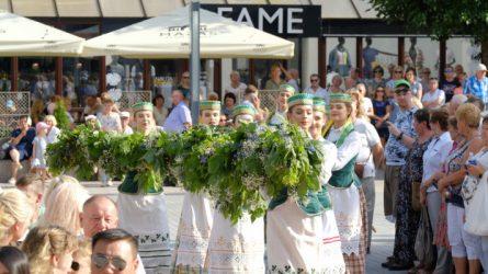 Alytiškius miesto šventės proga sveikina miestai partneriai
