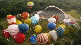 Iš Vilniaus padanges užpildžiusių oro balionų – kvietimas užsienio turistams