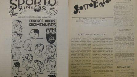 Lietuviški sporto laikraščiai užsienyje: nuo Mančesterio iki Niujorko