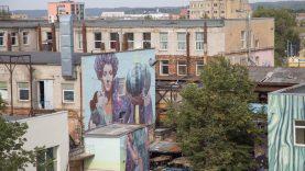 Vilnius virs viena didele meno galerija po atviru dangumi