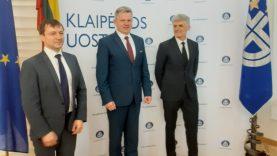Naujojo Klaipėdos uosto vadovo prioritetas – darnus uosto vystymas