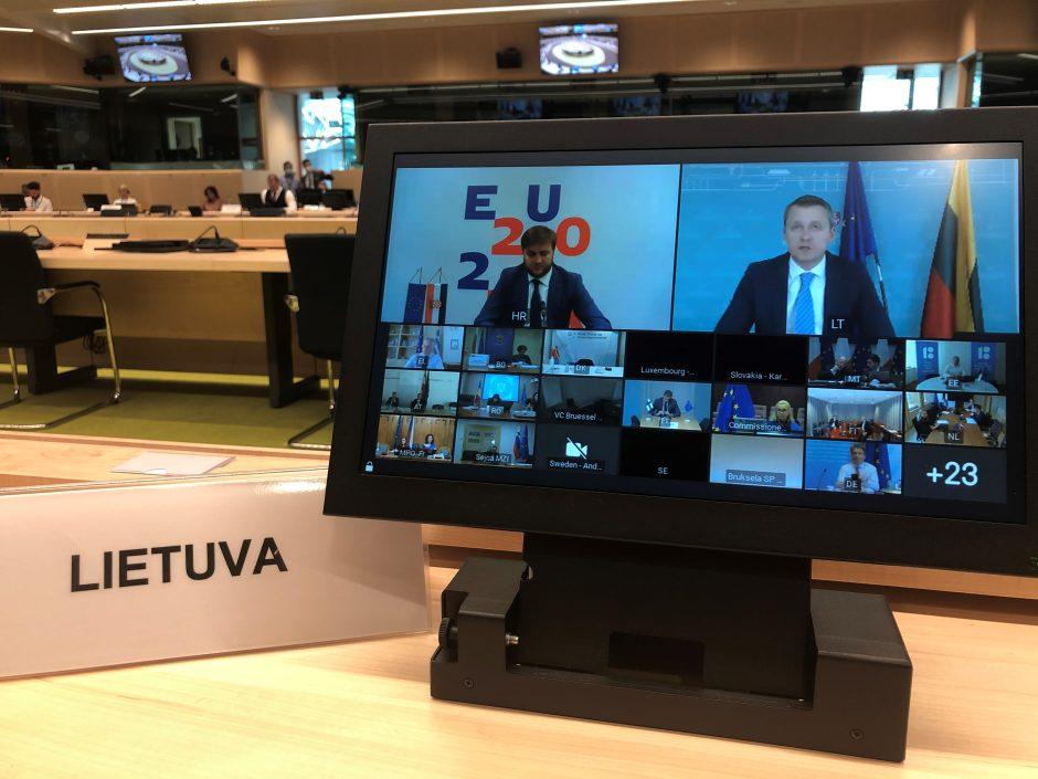 Astravo AE grėsmės klausimas – ES energetikos ministrų susitikimo darbotvarkėje