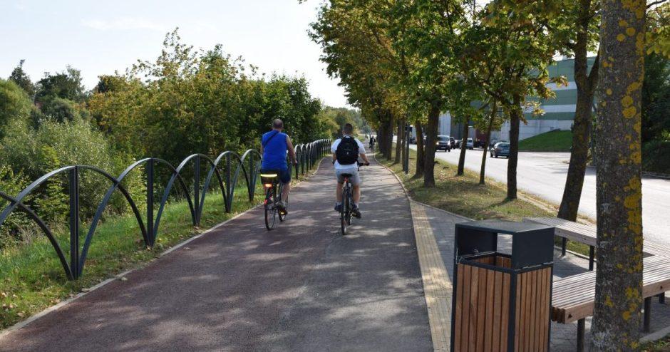 Panevėžyje daugės tvarkingų pėsčiųjų ir dviračių takų