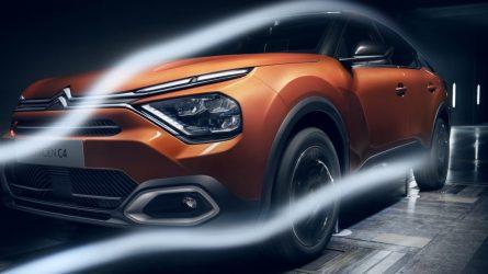 """""""Citroën"""" pristato naująjį C4 su trijų tipų varikliais, tarp jų – ir elektrinis"""