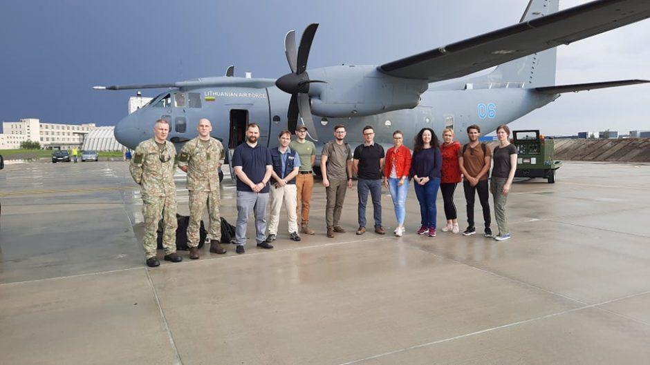 Į koronaviruso itin paveiktą Armėniją išvyko humanitarinę pagalbą šaliai teiksianti lietuvių komanda
