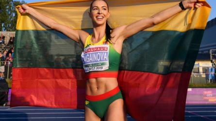 """Metais ilgiau olimpinių žaidynių lauksianti D. Zagainova: """"Galiu dar labiau sustiprėti"""""""