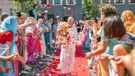 Vilnius savaitgalį virto Indija: joga, mandalos ir indiškos pasakos mažiesiems