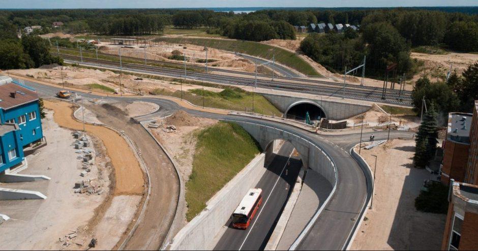 Kaune – dar viena pervaža mažiau: atidarytas Palemono ir Marių gatvių transporto mazgas