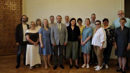 Darbą pradėjo naujoji Lietuvos kultūros ir meno taryba