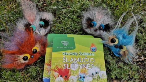 Keliauti po Kauno regioną kviečia vaikiškos knygutės personažas