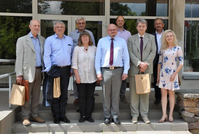 Lietuvos mokslų akademijos narių vizito metu aptartas tolimesnis bendradarbiavimas