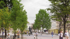Vokiečių gatvės atnaujinimo konkursas: išrinkta perspektyviausia idėja