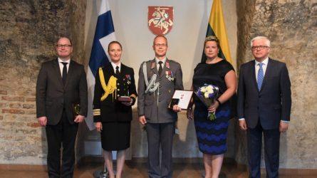 Akredituota naujoji Suomijos gynybos atašė Lietuvai