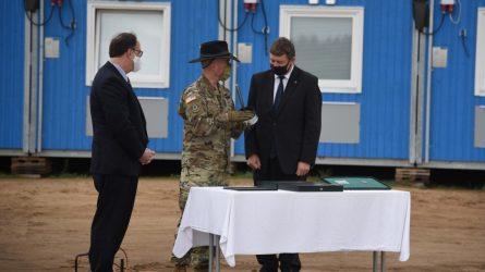 """R. Karoblis: """"JAV karių buvimas Lietuvoje, bendros pratybos yra geriausia atgrasymo priemonė šiais neramiais laikais"""""""