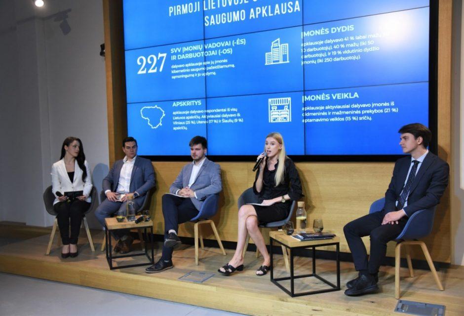 """Stiprinamas atsparumas kibernetinėms grėsmėms – pristatytas leidinys """"Kibernetinis saugumas ir verslas. Ką turėtų žinoti kiekvienas įmonės vadovas"""""""