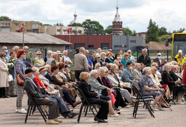 Gedulo ir vilties dieną Šiauliuose pagerbti tremtiniai – Rolando Parafinavičiaus nuotr.