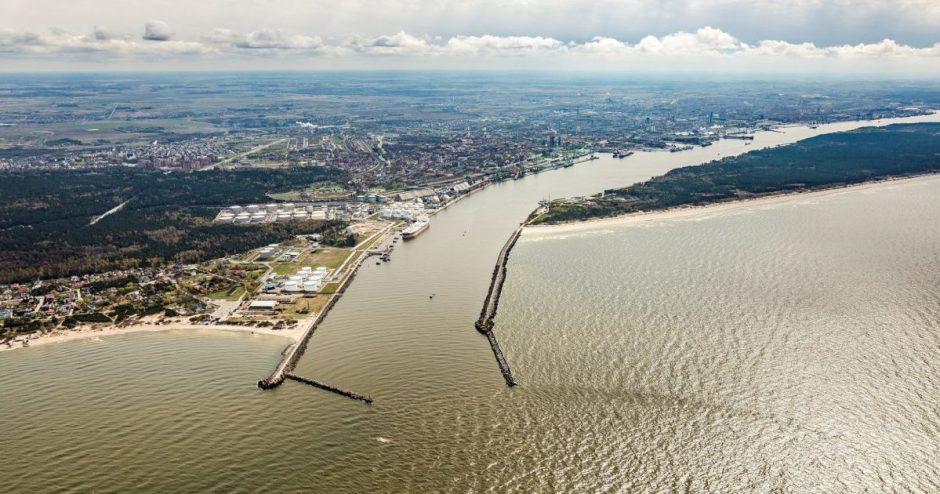 Klaipėdos uoste stiprinamas dėmesys aplinkosaugai ir valstybei reikšmingų projektų vystymui