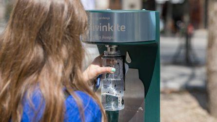 Vandens gertuves vilniečiams surasti padės interaktyvus žemėlapis