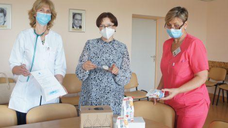 Moters ir vaiko klinikos pacientams– parama iš Vokietijos