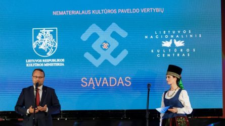 Kultūros ministras M. Kvietkauskas: tradicija gyva tada, kai ji perduodama