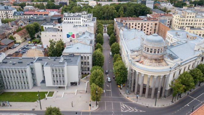 Kaunas tęsia centrinių gatvių kompleksinį atnaujinimą: startuoja remonto darbai L. Sapiegos gatvėje