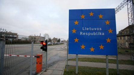 VRM: vidaus sienų kontrolę siūloma tęsti iki rugpjūčio 16 d.