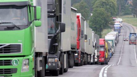 Keisis administracinė atsakomybė už vežėjų darbo ir poilsio režimo pažeidimus