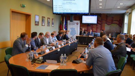 Marijampolės regiono plėtros taryba posėdžiavo Vilkaviškyje