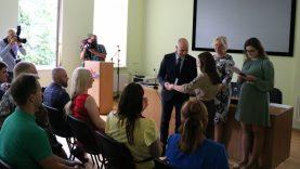 Pagerbti koronaviruso iššūkį padėję įveikti savanoriai
