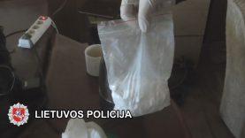 Nuteisti trys dideliais kiekiais narkotines medžiagas platinę klaipėdiečiai